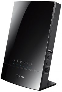 TP-LINK Archer C20i AC750 4 PORT WIRELESS ROUTER 750 Mbit WLAN SWITCH Dualband