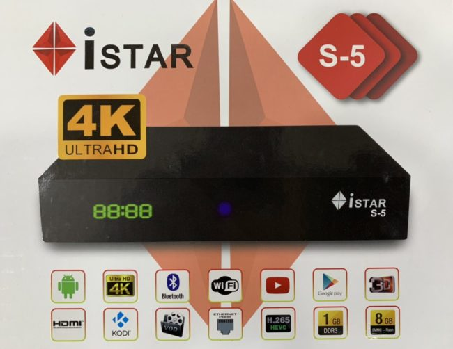 iStar-Android-S5 4K