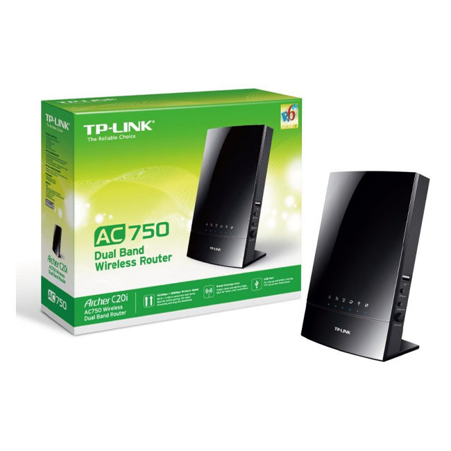 TP-LINK-WIRELESS DUAL BAND ROUTER