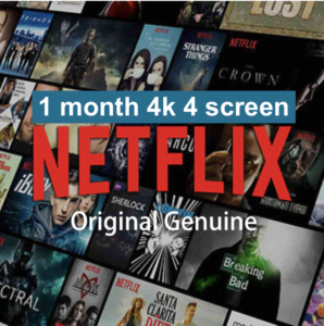 Netflix-1-month-4k-4screen